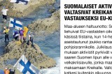 Finnish activists occupy Greek islands to fight EU crisis aid
