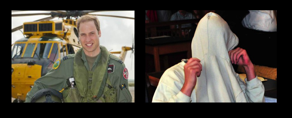 Police arrests a man trying to copycat Prince William